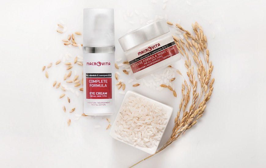 macrovita Intensive formula κρέμα νύκτας + ΔΩΡΟ Complete formula κρέμα ματιών
